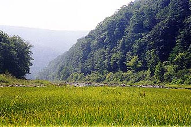 Greenbrier River Trail Beautiful Greenbrier River Valley scene