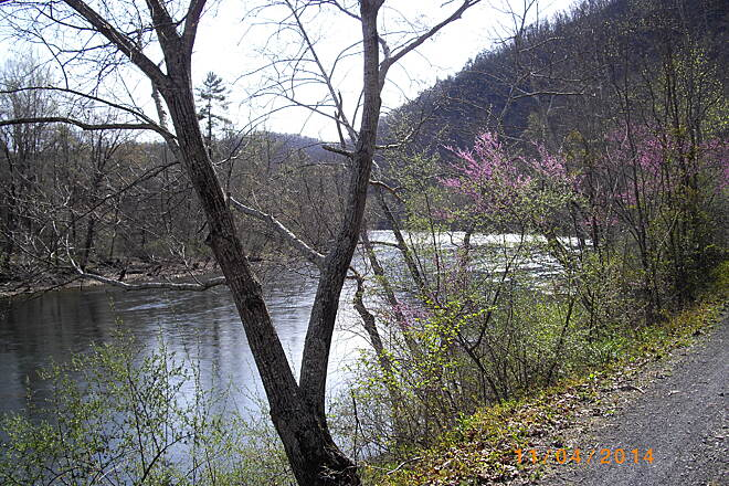 Greenbrier River Trail Greenbrier Trail April 2014 Beautiful day...in the 60s...clean paths..great trail.