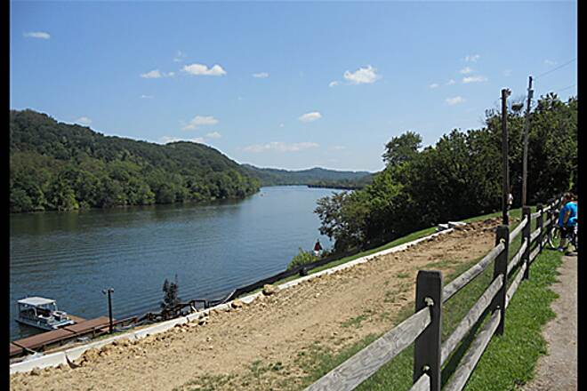 Greene River Trail Greene River Trail One of the beautiful views of the Monongahela River from the trail