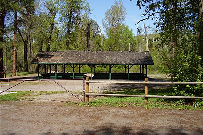 Greenough Park Trail Greenough Park 6 On the north side of Greenough Park, you can rent a large picnic shelter.