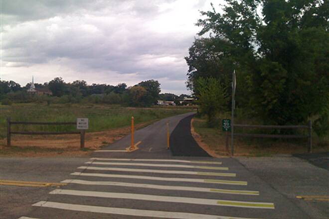 Greenville Health System Swamp Rabbit Trail Intersection