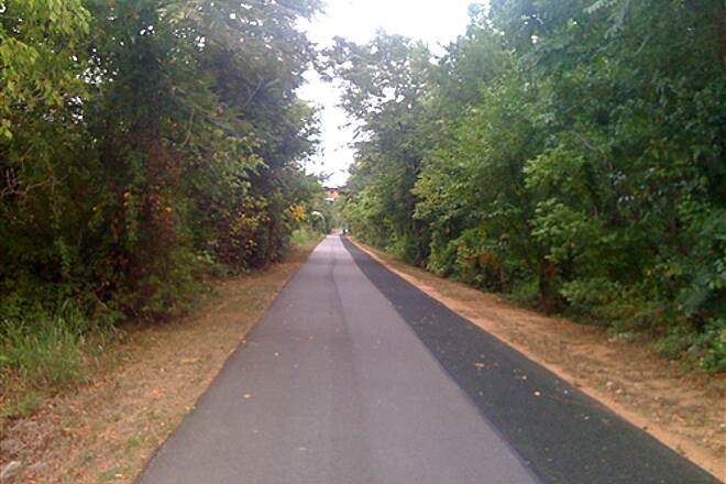 Greenville Health System Swamp Rabbit Trail Paved Section