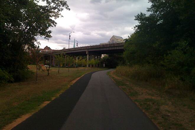 Greenville Health System Swamp Rabbit Trail Going Downtown