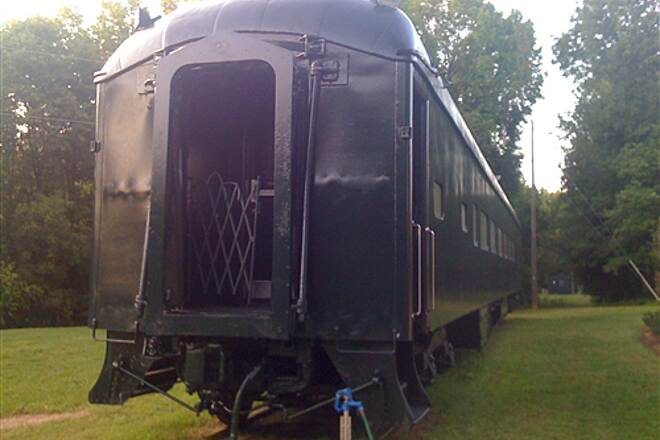 Greenville Health System Swamp Rabbit Trail Old Train at Furman Another old train car, this one on Furman University.