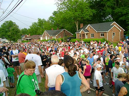 Greenville Health System Swamp Rabbit Trail Ready to Run The first organized race on the trail brought in several thousand runners/walkers.