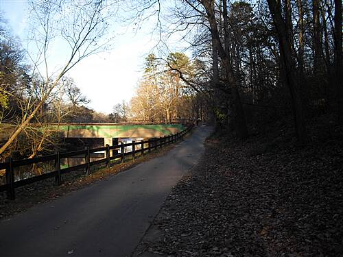 Greenville Health System Swamp Rabbit Trail Swamp Rabbit Trail  Along Reedy River in Cleveland Park