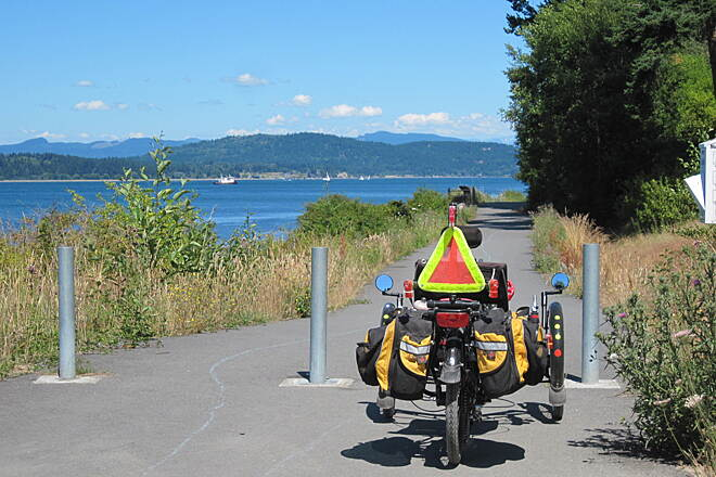 Guemes Channel Trail GUEMES CHANNEL TRAIL Ready to ride.