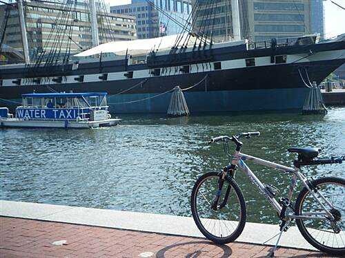 Gwynns Falls Trail GWYNNS FALLS TRAIL/INNER HARBOR U.S.S. Constellation, Inner Harbor Baltimore
