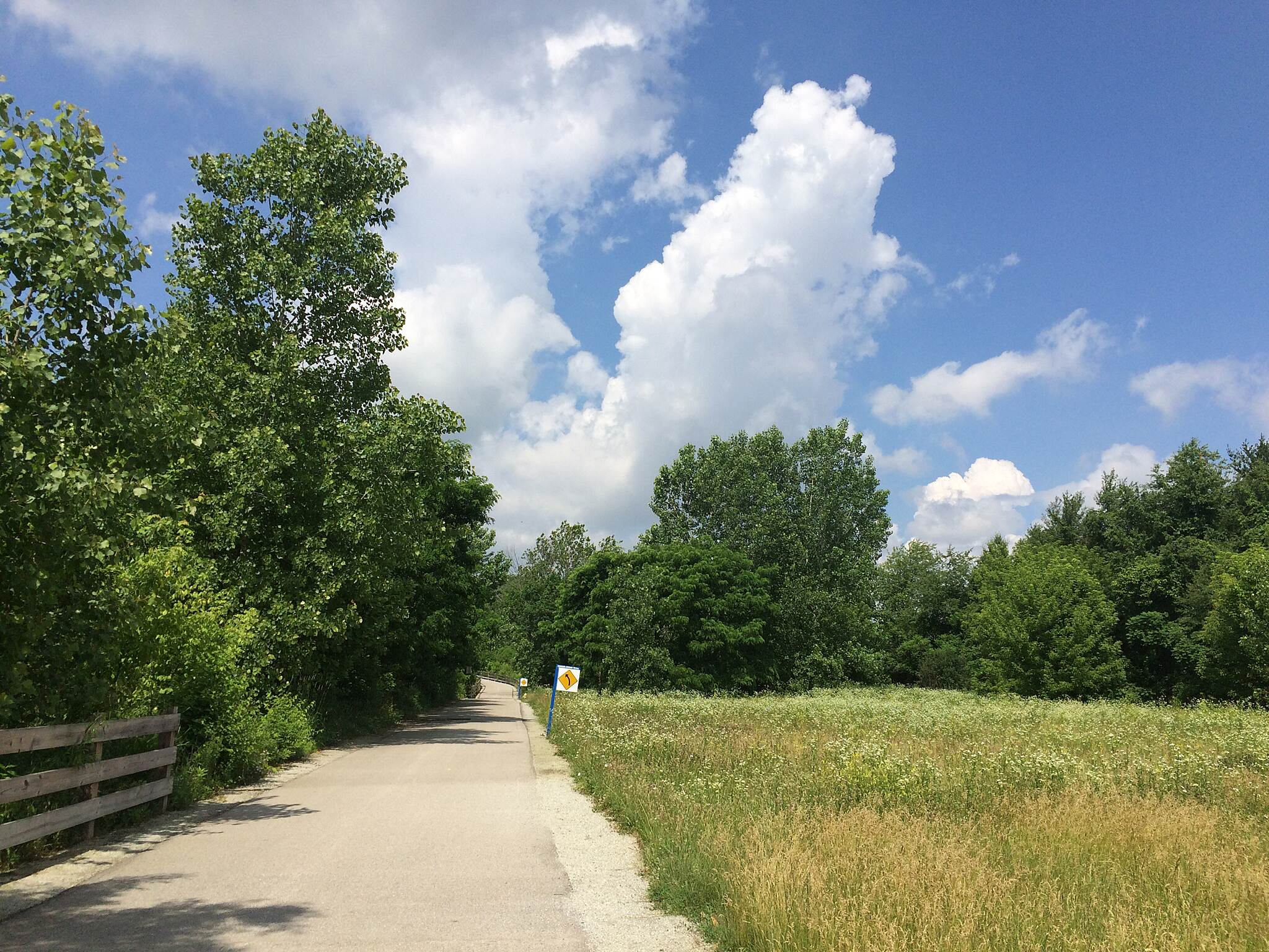 Hagan-Burke Trail Between Rangeline rd and Monon trail.