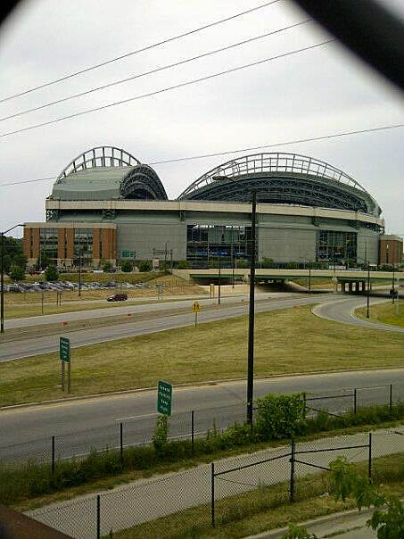 Hank Aaron State Trail Miller Park