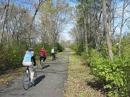 Harlem Valley Rail Trail Harlem Valley Rail Trail Bicycling is the most popular activity on this trail.