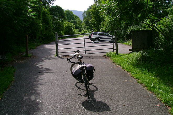 Harlem Valley Rail Trail End of the line... for now.  Ancram, NY