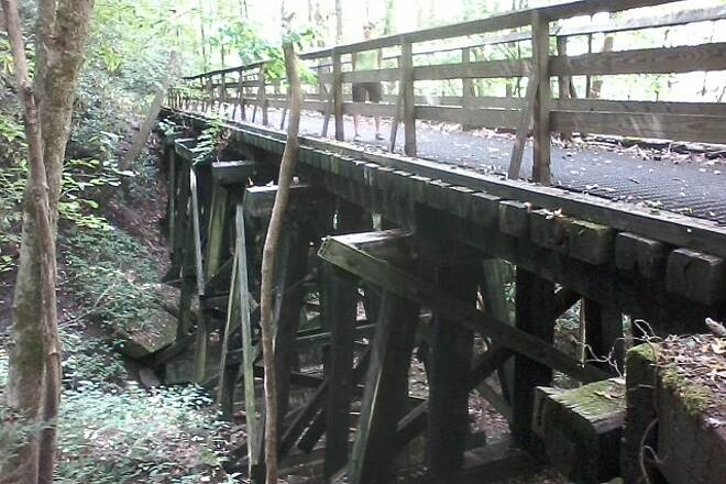 Hawks Nest Rail Trail Trestle