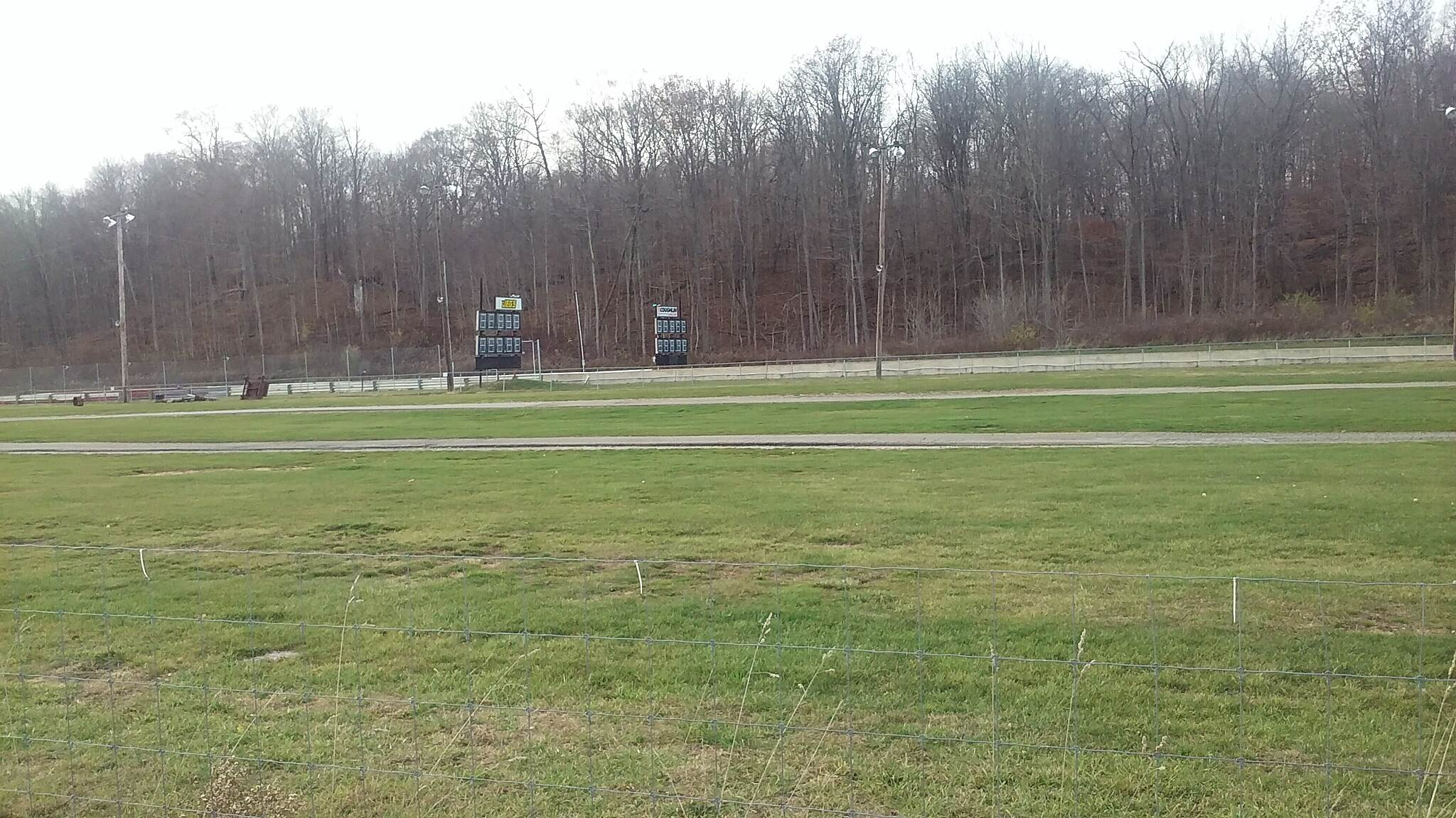Heart of Ohio Trail November 2015 Pacemakers Dragway Park along Heart of Ohio Trail in South part of Mt. Vernon, OH