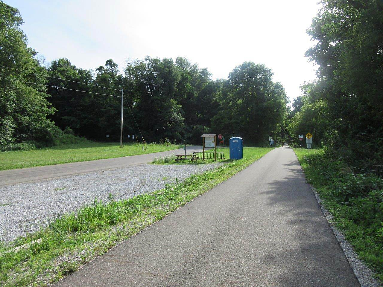 Heart of Ohio Trail Thayer Road Parking Parking at Thayer Road.