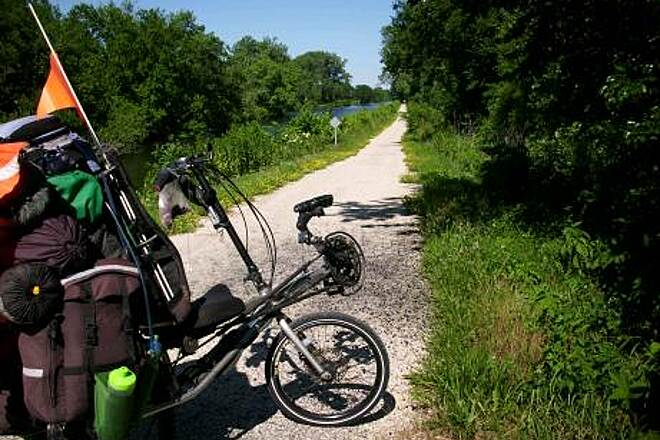 Hennepin Canal Parkway Break time along the Hennepin Canal Taken June 29, 2009
