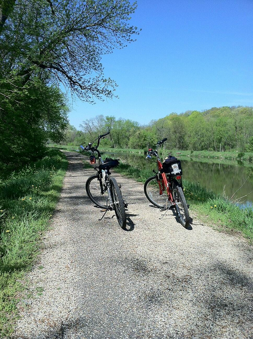 Hennepin Canal Parkway 5-7-13 Very peaceful trail.