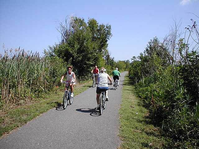 Henry Hudson Trail  Bicyclists
