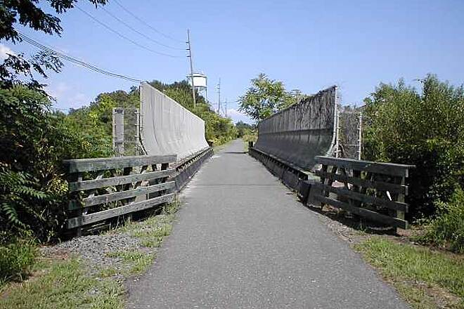 Henry Hudson Trail  Bridge over Route 35 in Keyport