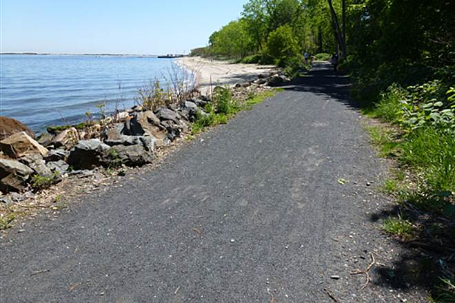 Henry Hudson Trail   Great ride along the water!