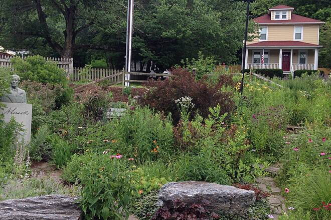 Heritage Rail Trail County Park Garden Done by Penn State master gardeners