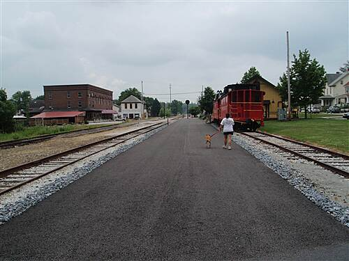 Heritage Rail Trail County Park York County Heritage Rail Trail, June 2010 Looking south from the New Freedom station