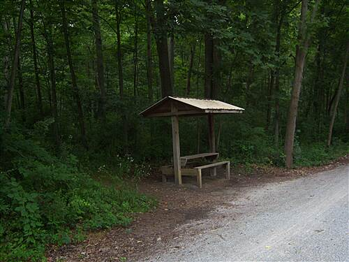 Heritage Rail Trail County Park York County Heritage Rail Trail Small picnic pavillions can be found at regular intervals along the trail, and are ideal for eating a meal or smack or just resting