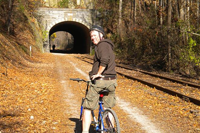 Heritage Rail Trail County Park November at the Howard Tunnel