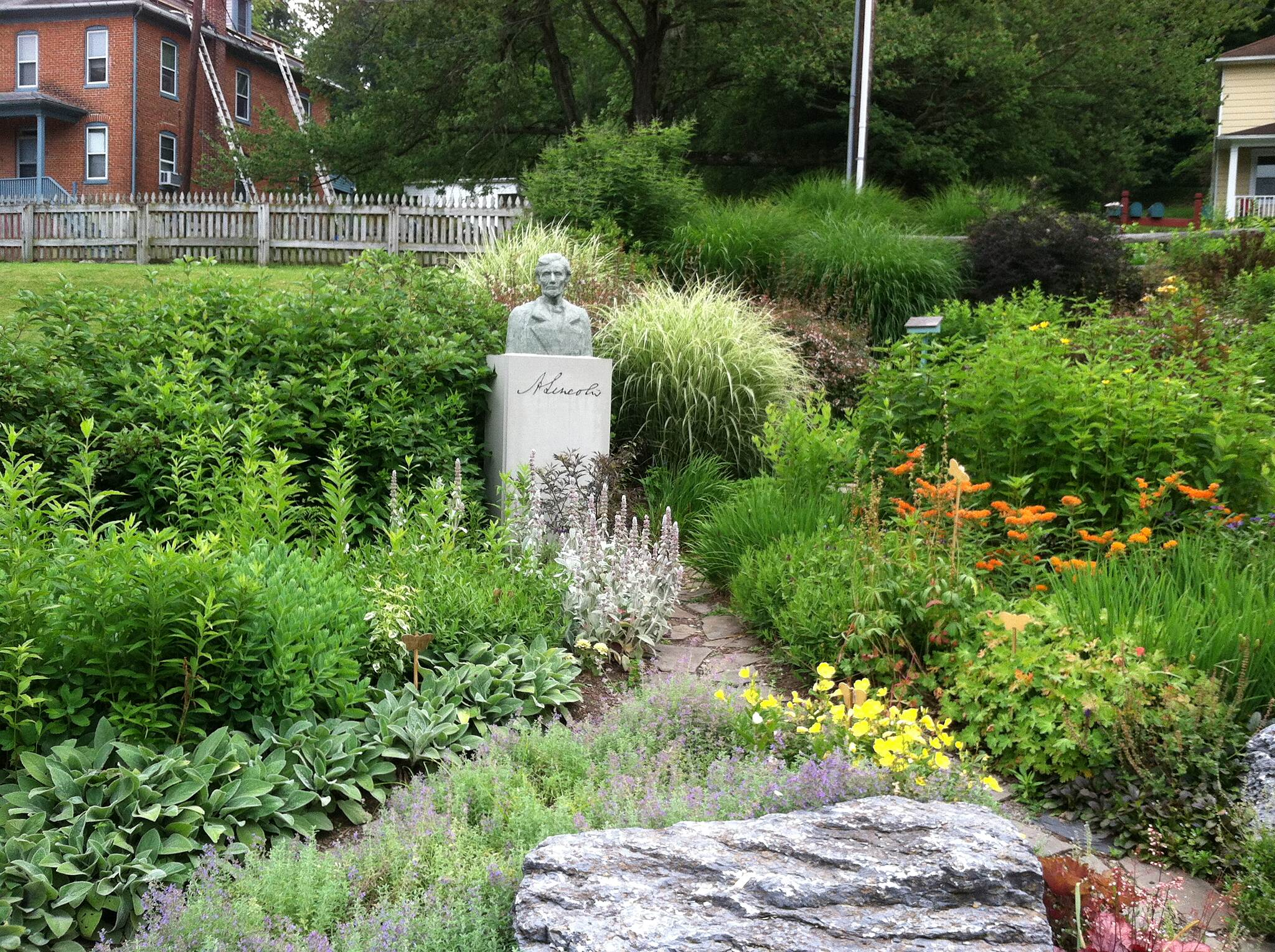 Heritage Rail Trail County Park Garden at Hanover Junction
