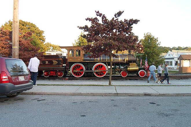 Heritage Rail Trail County Park Heritage Rail Trail 'Steam Into History's' flagship steam engine!