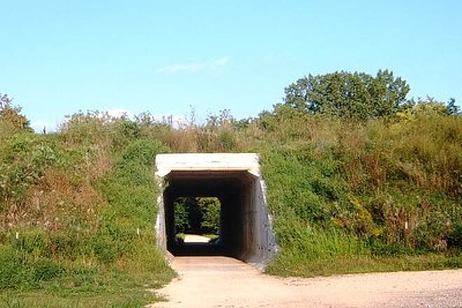 Heritage Trail (IA) Underpass North of Farley