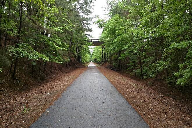 Heritage Trail (SC) Nice Paved Trail
