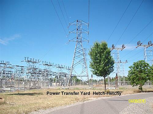 Hetch Hetchy Trail Hetch - Hetchy Power Transfer Yard