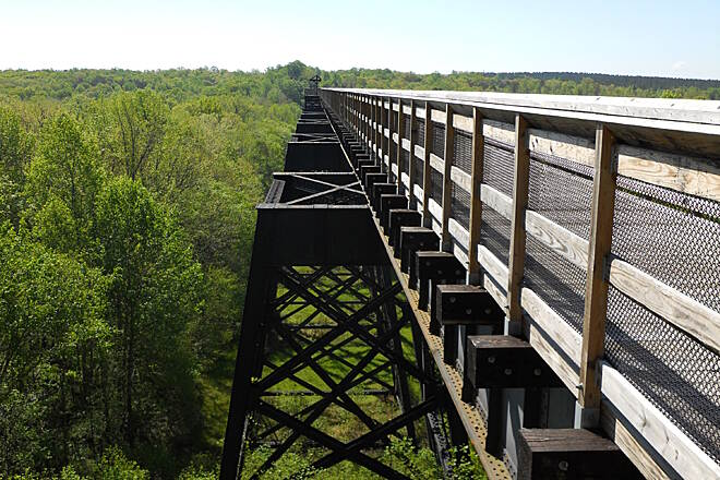 High Bridge Trail High Bridge trestle