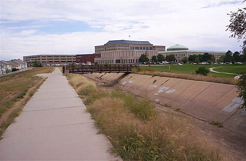 High Line Canal Trail (CO) Aurora City Center