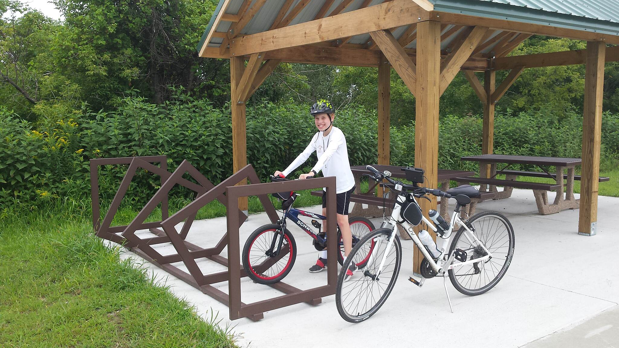 High Trestle Trail Bike Stand Rack