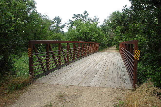 Hillsboro State Trail Bridge