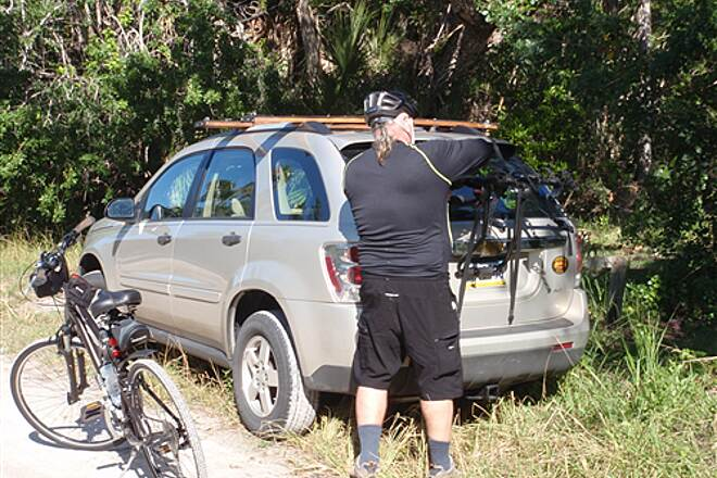Historic Jungle TrailParked on roadsideParked on roadside south end of trail