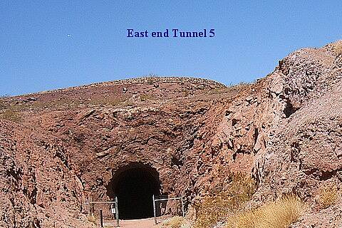 Historic Railroad Trail historical Rail Trail East end Tunnel 5