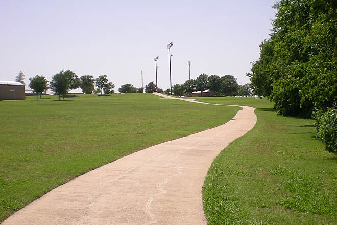 Hoblitzelle Park Trail Hoblitzelle Park Trail Photo provided by the City of Plano.