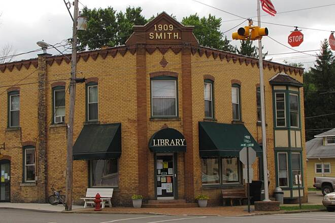Holmes County Trail Holmes County Trail Fredericksburg Library across from Lem's Pizza