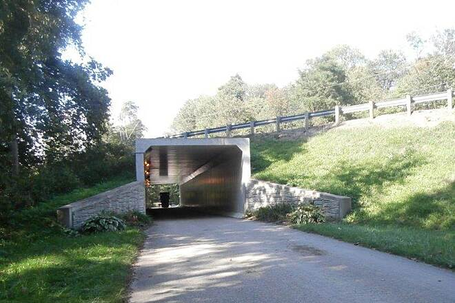 Holmes County Trail Underpass 2 lane underpass