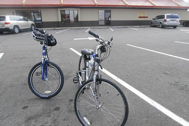 Holmes County Trail Food Stop McDonalds near the trail