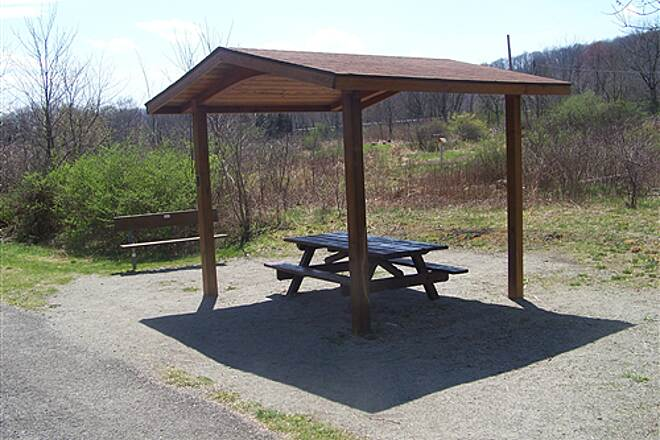 Hoodlebug Trail Pavilion  A pavilion north of Homer City