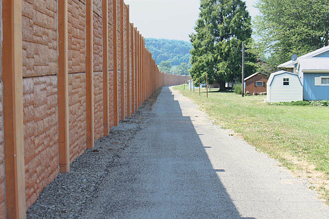 Hoodlebug Trail Hoodlebug big orange wall