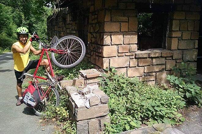 Hook Mountain/Nyack Beach Bikeway End of Trail You can find this empty small houses.