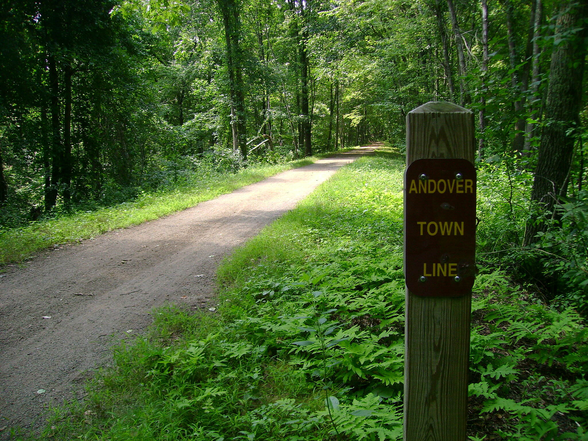 Hop River State Park Trail  Coventry-Andover border.