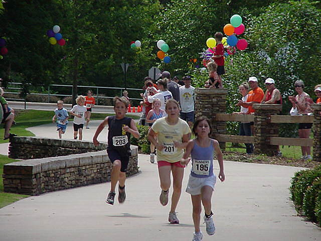 Hot Springs Creek Greenway Trail Du for the Parks Kids Du Photo provided by the Hot Springs Parks and Recreation Staff.