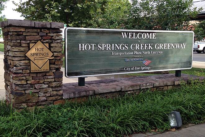 Hot Springs Creek Greenway Trail Hot Springs Creek Greenway lynnpowell