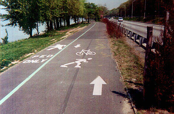 Hudson River Greenway Excellent trail design features